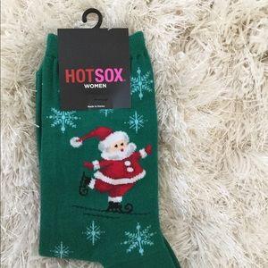 NEW WITH TAG Hot Sox women's xmas socks